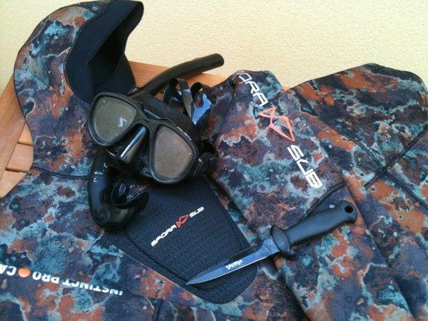 materiel chasse sous marine
