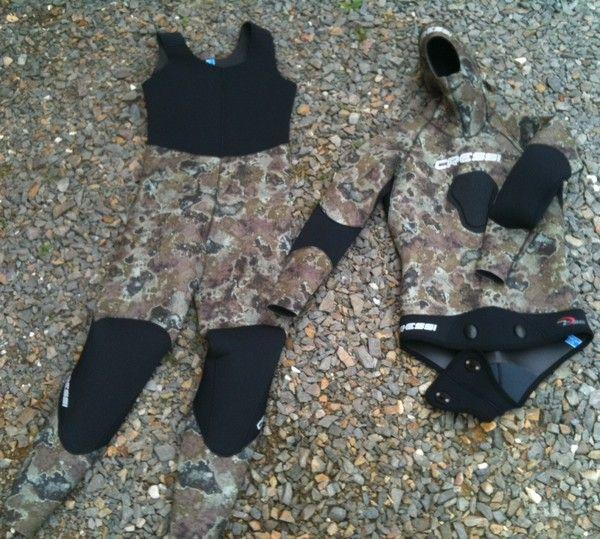 Mat riel combinaison cressi tecnica veste cressi tecnica - Equipement de chasse ...